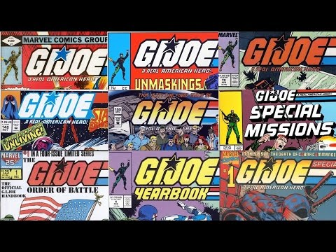 G.I. Joe #1 - 155 Comic Cover Gallery & Series Thoughts (Marvel 1982-1994)