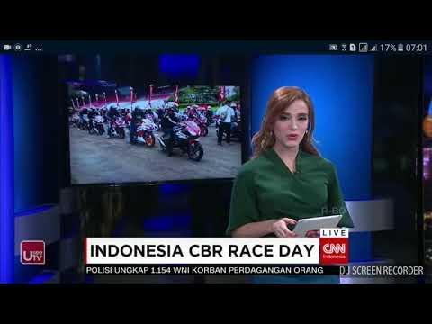 Indonesia cbr race day 2018 on cnn indonesia night news