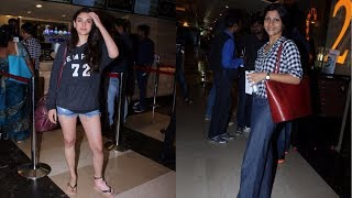 Konkona Sen Sharma And Aditi Rao Hydari Spotted At PVR ICON