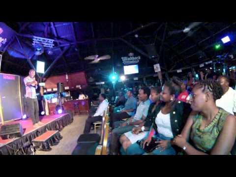 Mchekeshaji Babu Ayubu katika Evans Bukuku Show 2014