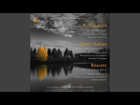 Violin Concerto in D Major, Op. 77: I. Allegro non troppo