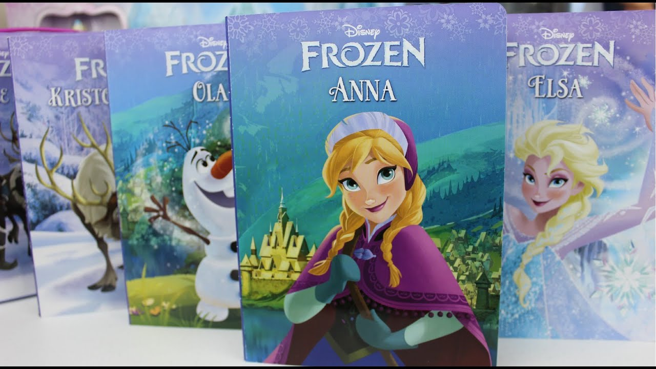 Disney Frozen Story Books of Elsa, Anna,Olaf and Cristoff|Frozen Una ...