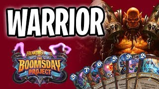 WARRIOR Card REVIEW | The Boomsday Project | Hearthstone