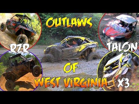 Can Am X3's, Turbo RZR's, And Honda Talon   Random Clips Ripping Around West Virginia