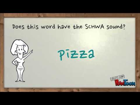 SCHWA Sound Video 2nd Grade
