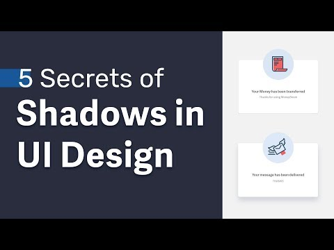 UI Design Drop Shadows Master Class → 5 Secrets Of Creating Soft Shadows In User Interfaces