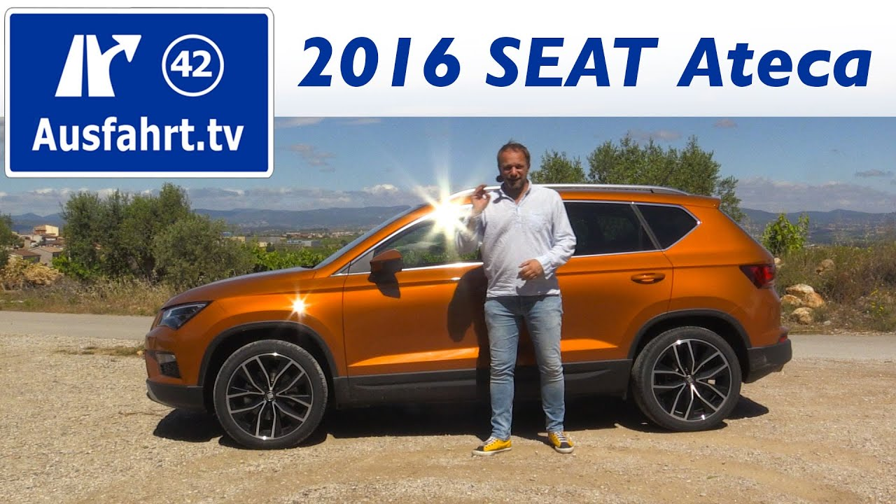 2016 seat ateca 2 0 tdi 190 ps 4drive xcellence. Black Bedroom Furniture Sets. Home Design Ideas