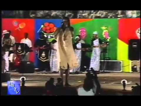 "G.B.T.V. CultureShare  ARCHIVES 1991:  AFRICAN TELLER  ""Sing a calypso"""