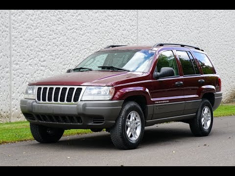 Perfect 4K Review 2002 Jeep Grand Cherokee Laredo Virtual Test Drive U0026 Walk Around
