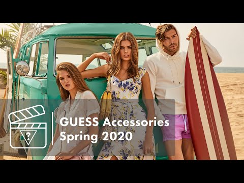 Behind The Scenes: GUESS Accessories Spring 2020 Campaign