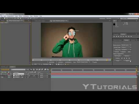 Adobe After Effects Tutorial: Motion Tracking (Censored Effect)