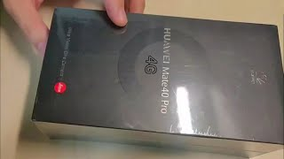 Huawei Mate 40 Pro 4G first Impression and Overview | Huawei Mate 40 Pro 4G Harmony OS