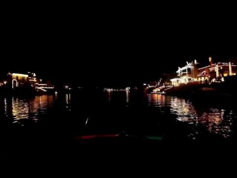 Huntington Harbor Holiday Lights 2016
