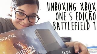 Unboxing Xbox One S 1TB Edição Especial Battlefield 1 (Verde Militar)