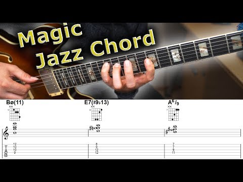 The Magic Chord - 10 ways to Use this Amazing Jazz Chord