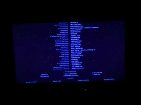 Star Wars The Force Awakins ending credits