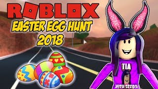 ROBLOX EASTER EGG HUNT 2018 - Jailbreak, MM2 and much more ! COME JOIN THE FUN !!