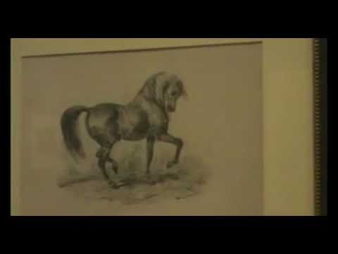 Exposición de dibujos de Rosario Weiss en la Biblioteca Nacional de España (BNE)