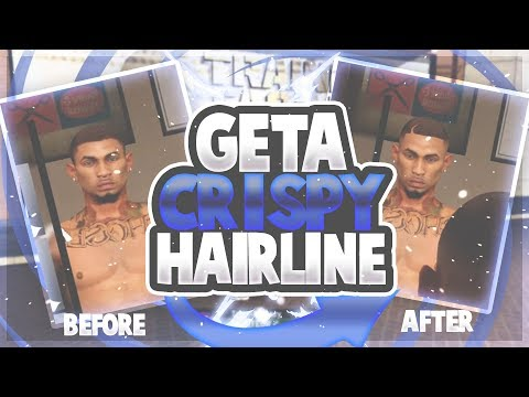 best-haircut-mypark-nba2k21!!!how-to-get-a-crispy-hairline!cleanest-haircut!nba2k21-my-park