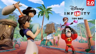 Disney Infinity 2.0 Ios Toy Box Gameplay Livestream 1