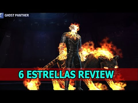 [Marvel Future Fight] Ghost Panther Review | ¿vale la pena? **final inesperado