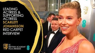Scarlett Johansson's Red Carpet Interview | EE BAFTA Film Awards 2020