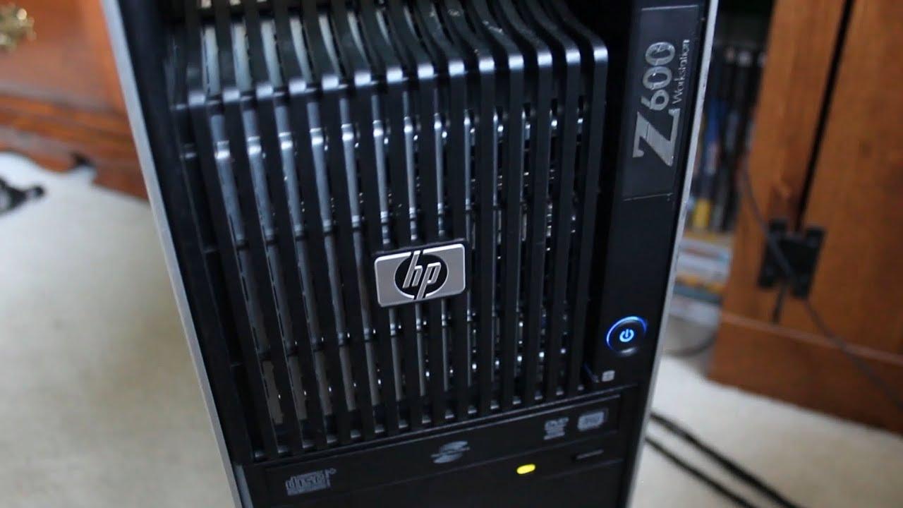 Using an HP Z600 as a Server