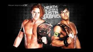 "WWE Heath Slater & Justin Gabriel 2011 Theme song ""Black or White"" by Bleeding in Stereo"