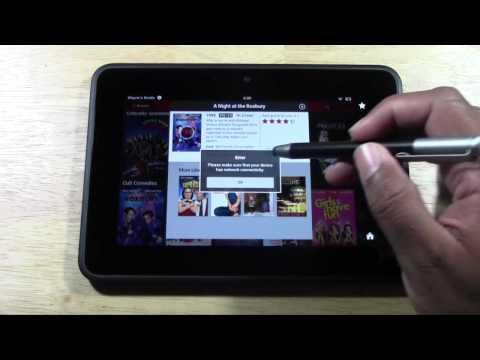 Netflix on Kindle Fire HD  H2TechVideos