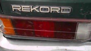 Обзор Opel Rekord 1984 год