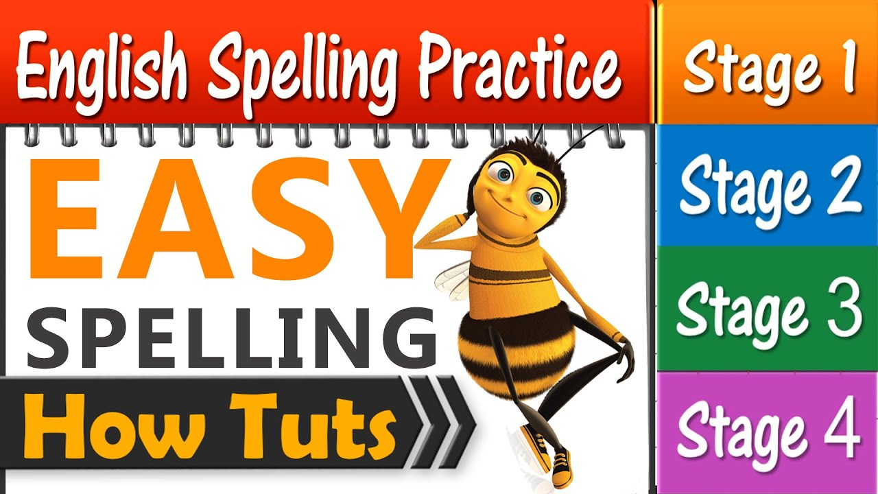 English Spelling Practice 4 Stages 40 Min