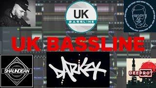 UK Bassline tutorial (Darkzy, Holy Goof, Shaun Dean)
