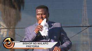 BISHOP ND NHLAPO SINGING - PRETORIA