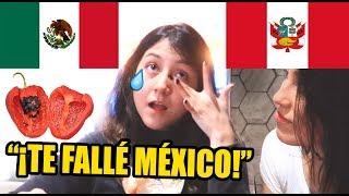 Mexicana Prueba Comida Peruana Picante y esta es su INESPERADA Reacción