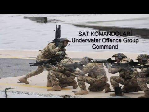 TÜRK SAT KOMANDOLARI Underwater Offence Group Command-2016
