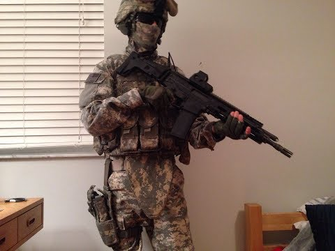 Milsim U.S. Army Impression Loadout - Airsoft Acu / Ucp