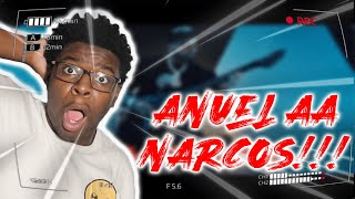 Anuel AA - Narcos (Official Music Video) Reaction!!!
