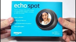 Blogger test du Echo Spot de Amazon