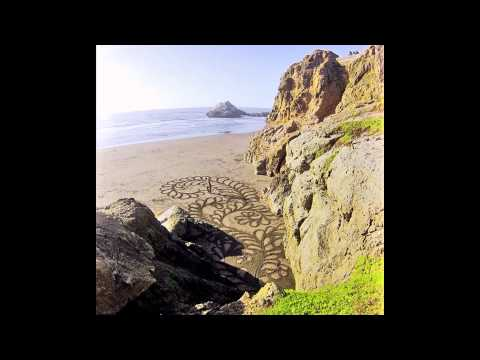 'Kelp at Ocean Beach' Playa Painting timelapse