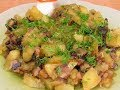 30 -КУЛИНАРИЯ -  Картофель тушёный с грибами и куриным филе.