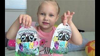 Яички с сюрпризами Хочмелс Игрушки в яйцах и пакетиках Распаковка игрушек Surprise eggs for kids