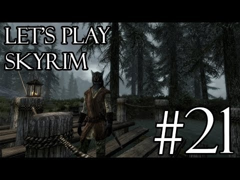 "Let's Play Skyrim Modded | 21 | ""Bandit Treasure!"""