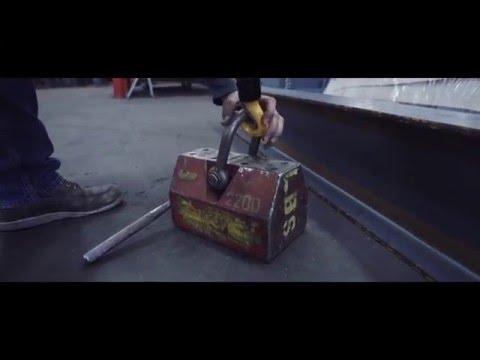 4D Industrial Solutions- Custom Portable Jib Crane (PJC-510)