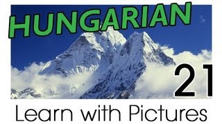 Learn Hungarian Vocabulary with Pictures - Describing the World Around You