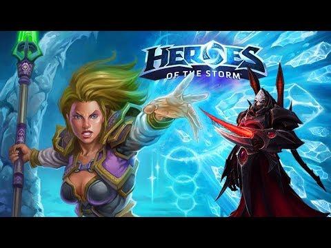 видео: Разрезанная талдаримом - Лига героев в heroes of the storm