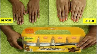 Manicure at home | VLCC manicure and pedicure kit | Tan Removal Manicure