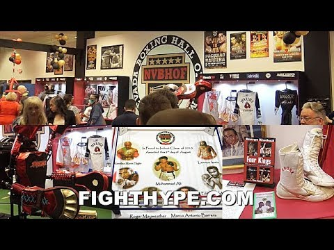 TOUR OF THE NEVADA BOXING HALL OF FAME INTERACTIVE BOXING EXHIBIT MUSEUM