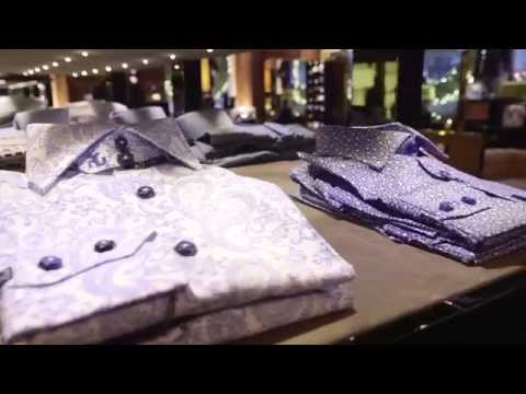 Arise TV At Angelo Galasso Menswear Store