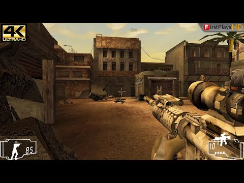 Shadow Ops: Red Mercury (2004) - PC Gameplay 4k 2160p / Win 10