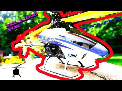 E FLIGHT BLADE 230 SR 2010 UNBOXING & FLIGHT VINTAGE TIME MACHINE